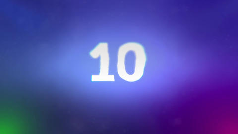 10 sec Countdown After Effects Template