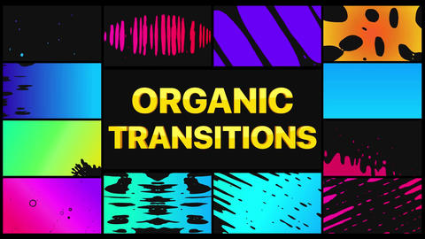 Organic Transitions Apple Motion Template