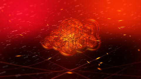 Internet Cloud Services Animation Animation