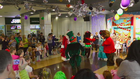 Christmas show for children Footage