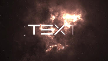 Nebula intro After Effects Template