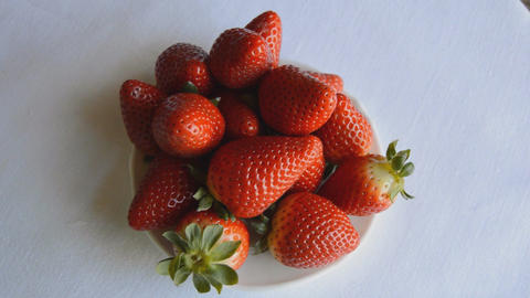Strawberries On A Plate Live Action