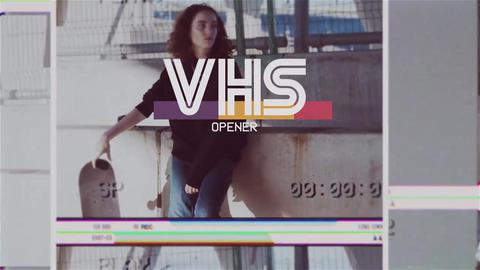 VHS Retro Opener Promo AE
