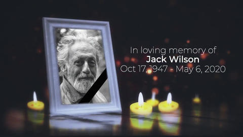 Funeral Ceremony Invitation - Text Last Way (FCPX)