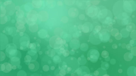 Green bokeh background Animation