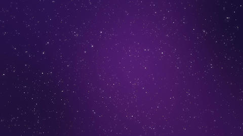Sparkling night sky galaxy animated background Animation