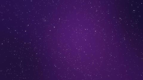 Sparkling night sky galaxy animated background Animation