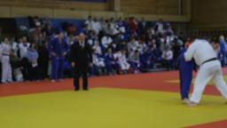 winning IPPON judoka man athlete Footage