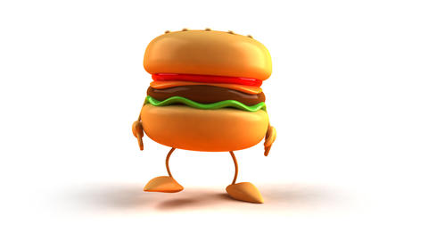 burger bow 1 Stock Video Footage