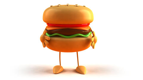 burger bow 1 Animation