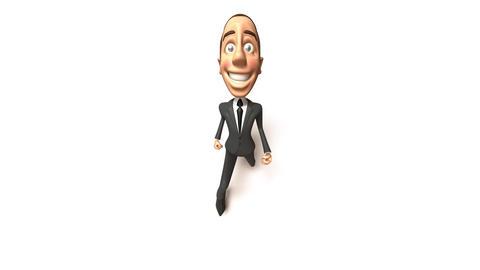 business run 02 Stock Video Footage