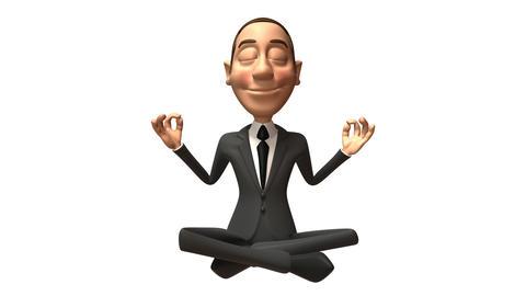 business zen Stock Video Footage
