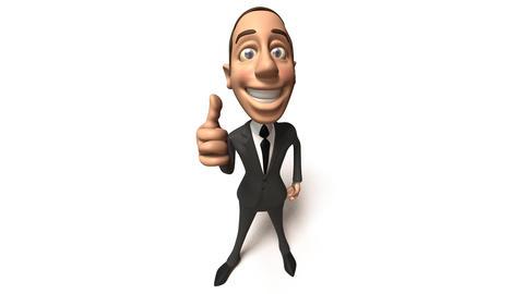 businessman thumbs1 Stock Video Footage