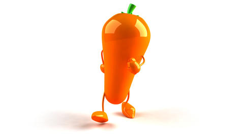 carrot walk Stock Video Footage