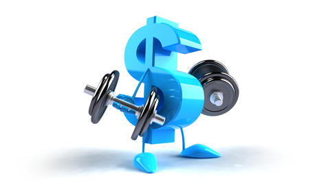 dollar weights HD Stock Video Footage