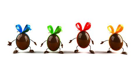 eggs jump Animation