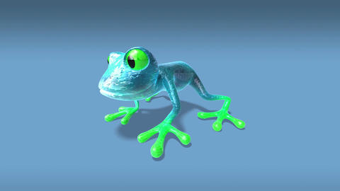 frog3 Stock Video Footage