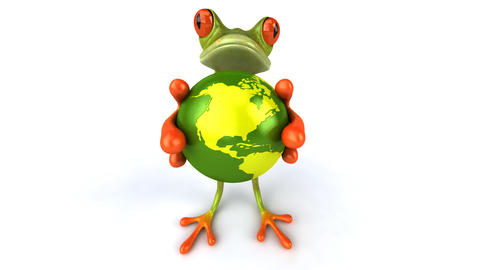 Frogworldb HD Animation