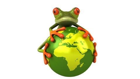 frogworld HD Stock Video Footage