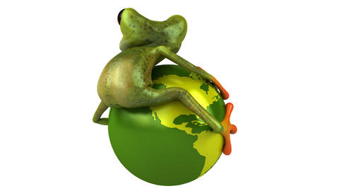 Frogworld HD stock footage