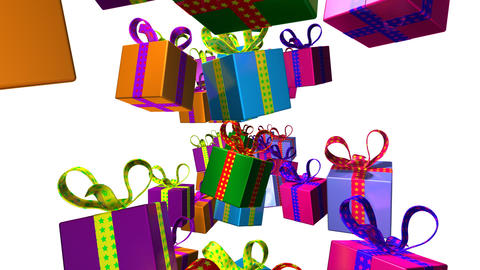 gifts2 Stock Video Footage