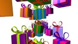 Gifts2 stock footage