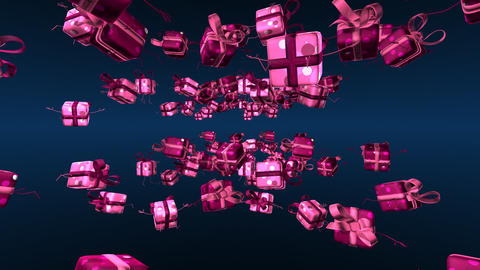 giftspink2 Stock Video Footage