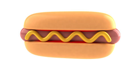 hotdog1 Stock Video Footage