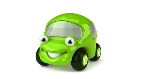 green car HD Animation