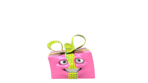 happygiftpink HD Animation