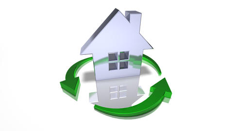 house recycle Stock Video Footage