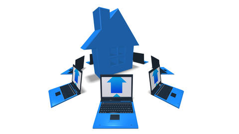 house laptop HD Animation
