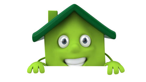 housesmilegreen Animation