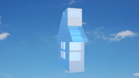 house sky Animation