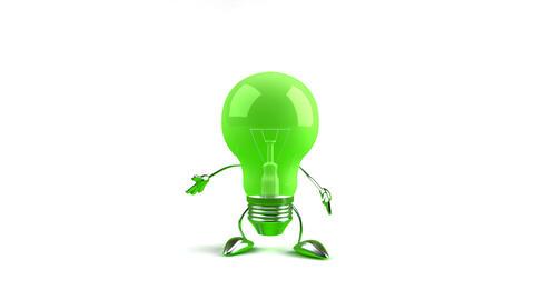 lightbulb1b Stock Video Footage
