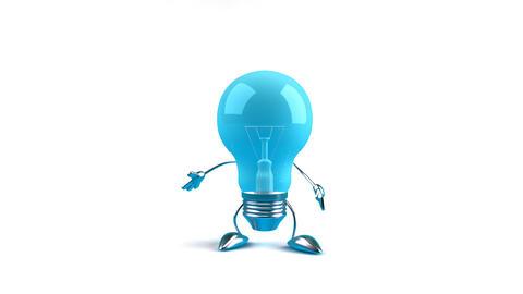 lightbulb2c Stock Video Footage