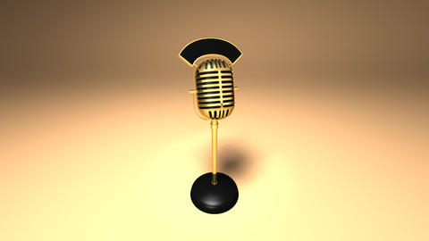 microphone3 Stock Video Footage