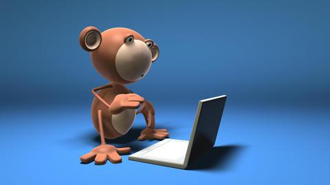 monkey 01 Animation