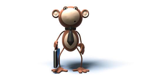 monkey 03 Stock Video Footage