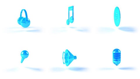 music icons2 Animation