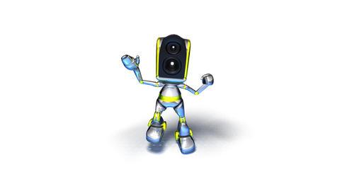 robotdance2 Stock Video Footage