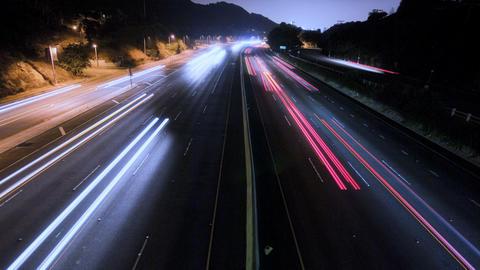 LA Freeway Footage