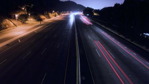 LA Freeway Stock Video Footage