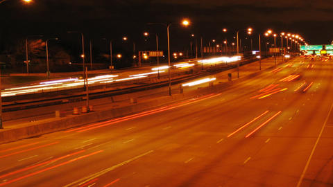 Montrose Overpass HD Stock Video Footage