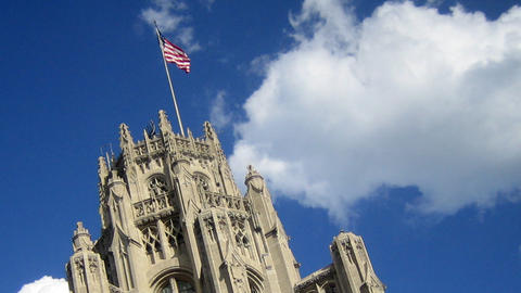 Tribune Tower Stock Video Footage