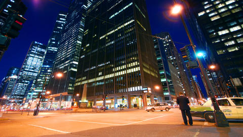 Wacker Drive Stock Video Footage