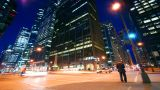 Wacker Drive stock footage