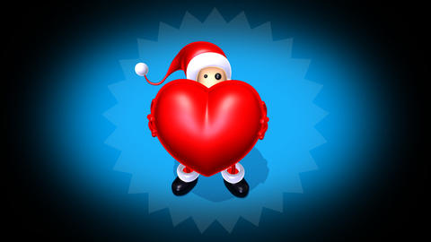 santa love Stock Video Footage