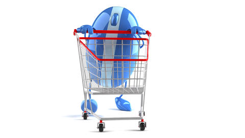 shopoing cart mouse1 Animation