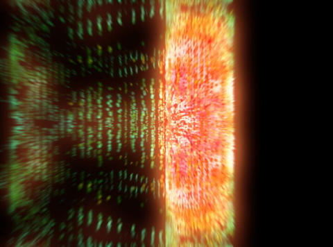 VJ Loop 381 Particles World 02 26s Stock Video Footage